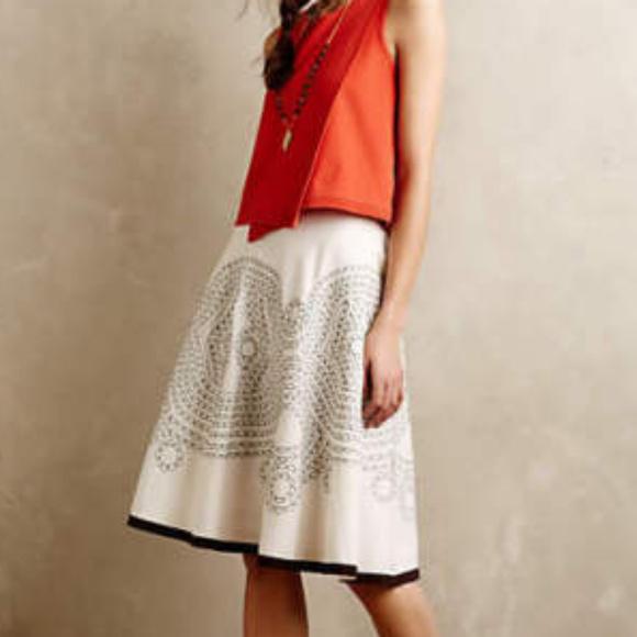 Anthropologie * Ranna Gill Dresses & Skirts - ANTHROPOLOGIE Bellflower Skirt 2/4 Ranna Gill